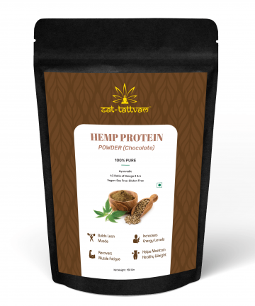 Hemp Protein Powder Chocolate flavor